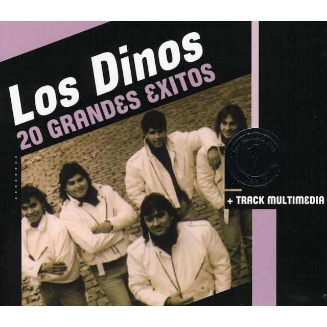 Los Dinos LOS NUMERO 1-20 GRANDES EXITOS CD
