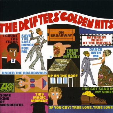 Drifters GOLDEN HITS CD