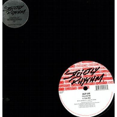 Aly Us FOLLOW ME Vinyl Record - UK Release