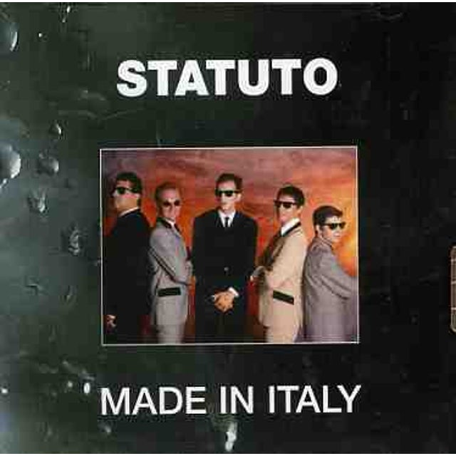 Statuto MADE IN ITALY CD