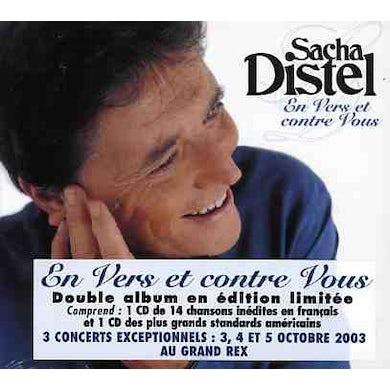 Sacha Distel EN VERS ET CONTRE VOUS CD