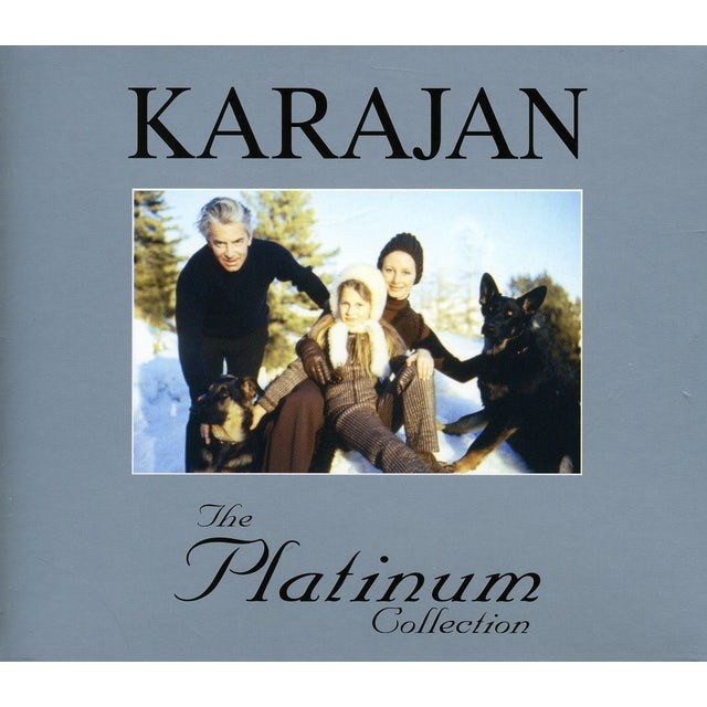 Herbert Von Karajan PLATINUM COLLECTION CD