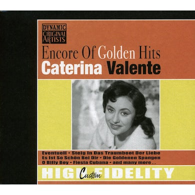 Caterina Valente ENCORE OF GOLDEN HITS CD