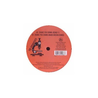 Separatists SHAKE YOU DOWN (PERCY X PRESENTS Vinyl Record