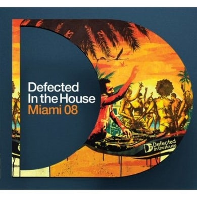 DEFECTED IN THE HOUSE: MIAMI 2008 PT1 / VAR Vinyl Record - UK Release