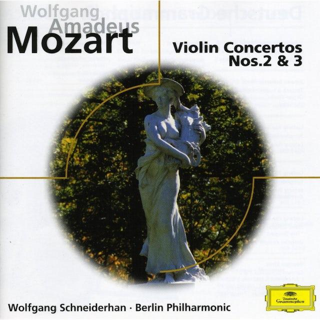 W.A. Mozart VIOLIN CONS 2 & 3 CD