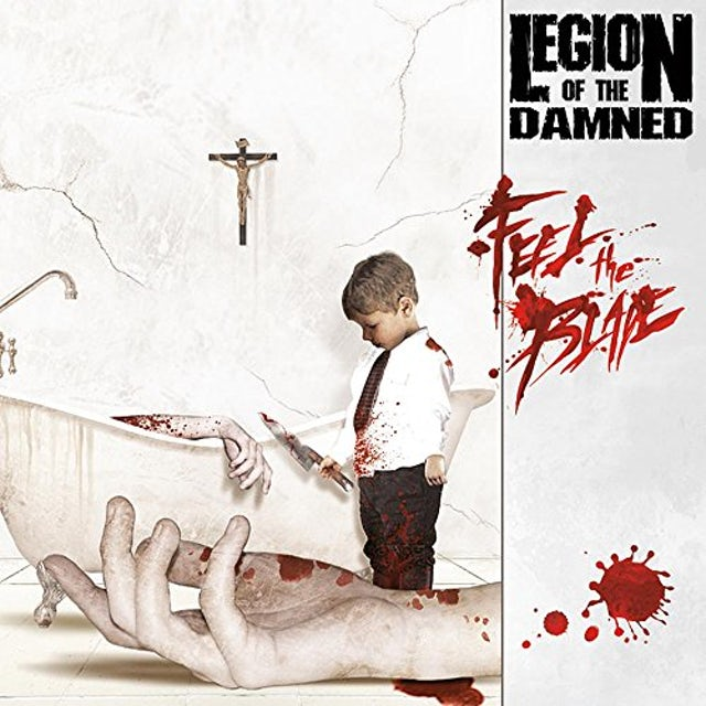 Legion Of The Damned FEEL THE BLADE Vinyl Record