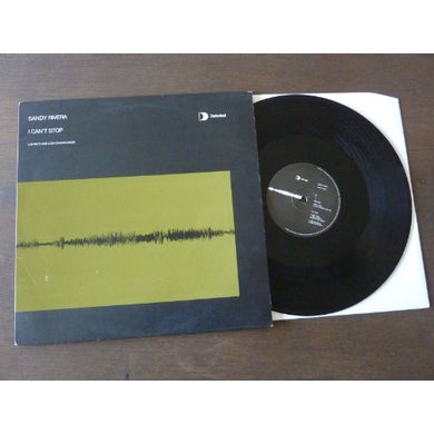 Sandy Rivera I CANT STOP Vinyl Record - UK Release