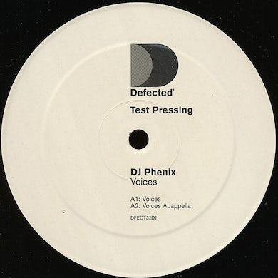 Dj Phenix VOICES Vinyl Record