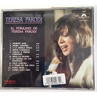 Teresa Parodi EL PURAJHEY DE CD