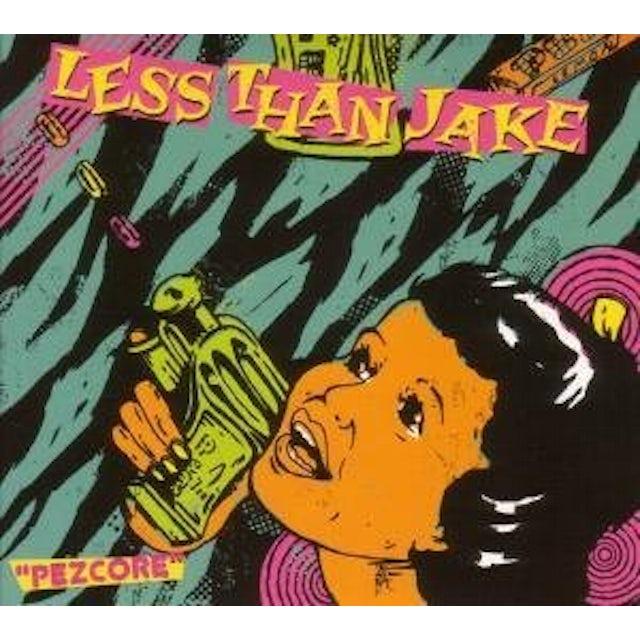 Less Than Jake PEZCORE CD