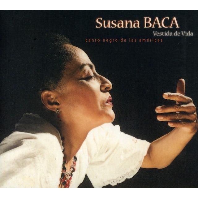 Susana Baca VESTIDA DE VIDA CD