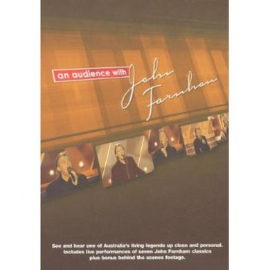 AN AUDIENCE WITH JOHN FARNHAM DVD