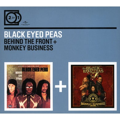 The Black Eyed Peas BEHIND THE FRONT/MONKEY BUSINESS CD