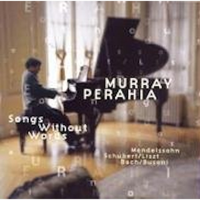 Murray Perahia SONGS WITHOUT WORDS CD