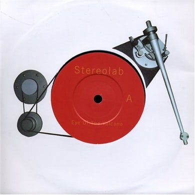 Stereolab EYE OF THE VOLCANO Vinyl Record - UK Release