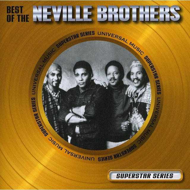 Neville Brothers BEST OF-SUPERSTAR SERIES CD