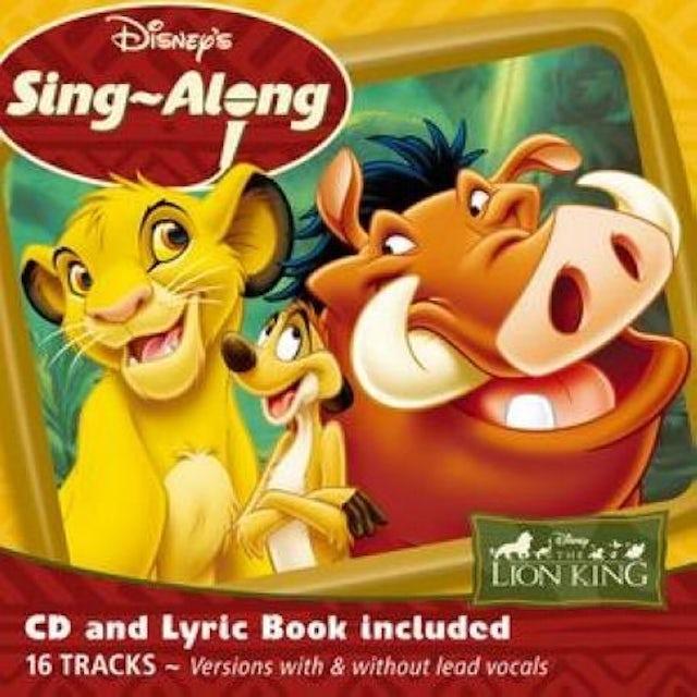 Disney SING A LONG THE LION KING CD