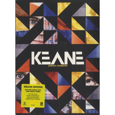 Keane PERFECT SYMMETRY: DELUXE EDITION CD