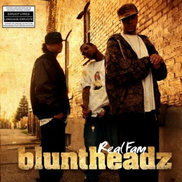 Bluntheadz REAL FAM CD