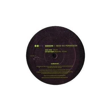 Gideon 57886 NEED NO PERMISSION 1 Vinyl Record