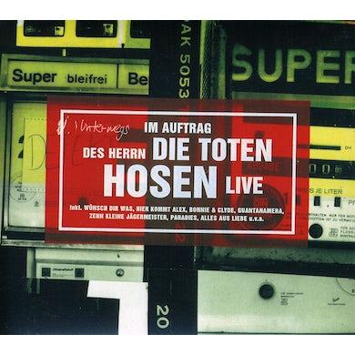 Die Toten Hosen IM AUFTRAG DES HERRN-LIVE CD