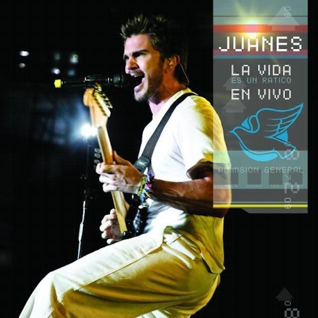 Juanes LA VIDA ES UN RATICO EN VIVO CD