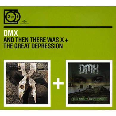 Dmx THEN THERE WAS X /THE GREAT DEPRESSION CD