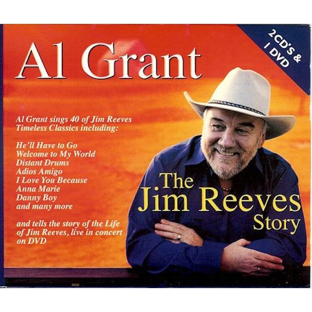 Al Grant JIM REEVES STORY CD