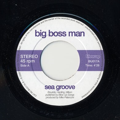Big Boss Man SEA GROOVE Vinyl Record
