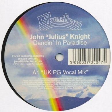 John Julius Knight DANCIN IN PARADISE Vinyl Record