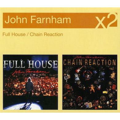 John Farnham FULL HOUSE/CHAIN REACTION CD