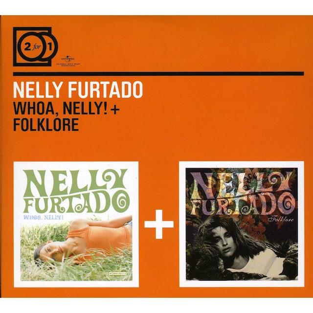 Nelly Furtado WHOA NELLY/FOLKLORE CD