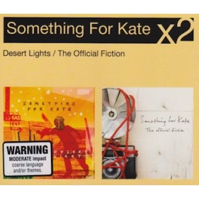 Something For Kate DESERT LIGHTS/THE OFFICIAL FICTION CD