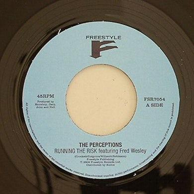 The Perceptions RUNNING THE RISK Vinyl Record