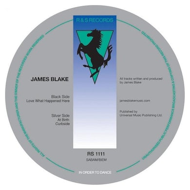 James Blake LOVE WHAT HAPPENED HERE Vinyl Record - UK Release