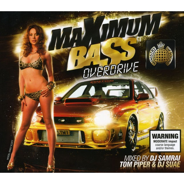 ministry of sound MAXIMUM BASS OVERDRIVE CD