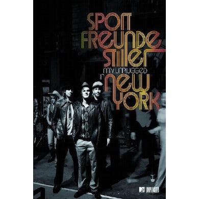 Sportfreunde Stiller MTV UNPLUGGED IN NEW YORK (DVD VIDEO ALBUM) CD