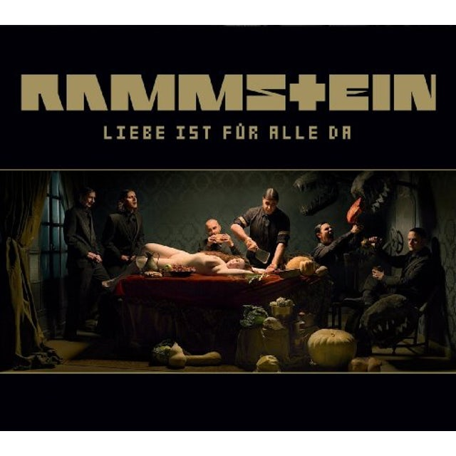 Rammstein LIEBE IST FUER ALLE DA CD