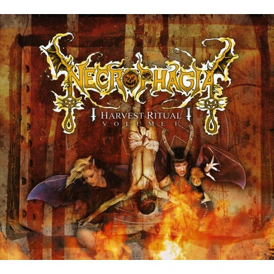 Necrophagia VOL. 1-HARVEST RITUAL CD