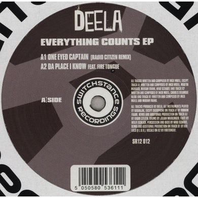 Deela EVERYTHING COUNTS Vinyl Record - Australia Release