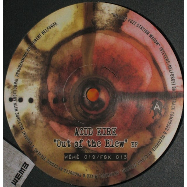 Acid Kirk OUT OF THE BLEW Vinyl Record - Australia Release
