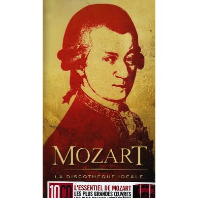 W.A. Mozart LA DISCOTHEQUE IDEALE CD