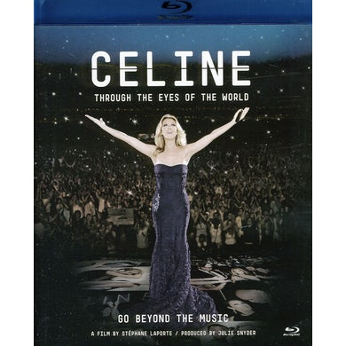 Celine Dion THROUGH THE EYES OF THE WORLD (2010) Blu-ray