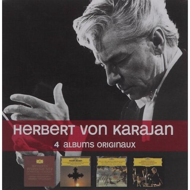 Herbert Von Karajan 4 CD ORIGINALS CD