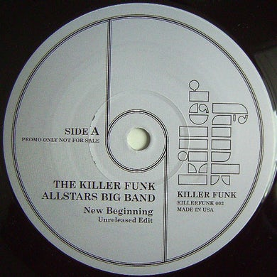 Killer Funk Allstars Big Band NEW BEGINNING-HOME COOKIN Vinyl Record