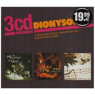 Dionysos LA MECANIQUE DU COEUR-MONSTERS IN CD