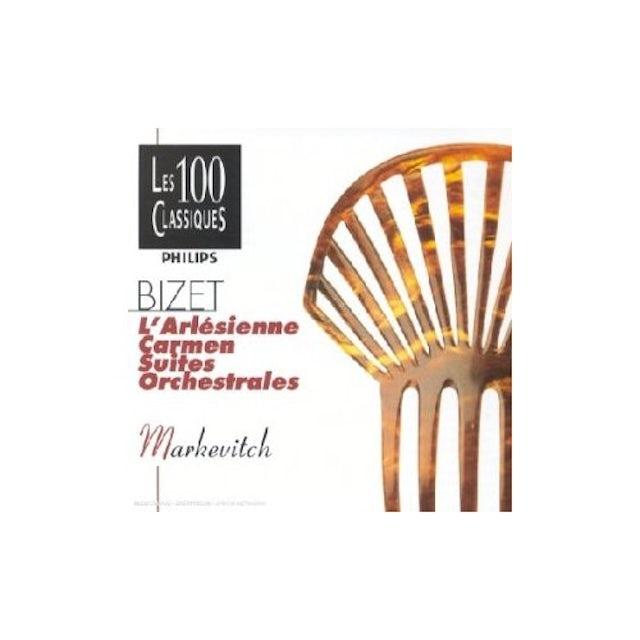 Igor Markevitch BIZET-CARMEN-ARLESIENNE SUITES 1 ET CD