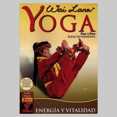 Wai Lana YOGA PASO A PASO ENERGIA Y VITALIDAD DVD