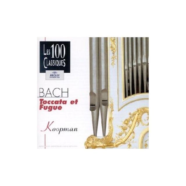 Ton Koopman BACH: OEUVRES POUR ORGUE-TOCCATAS CD
